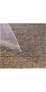 24 x 72 transparent carpet protector; Amazon.com: Resilia - Clear Vinyl Plastic Floor Runner/Protector for Deep Pile Carpet - Skid ...