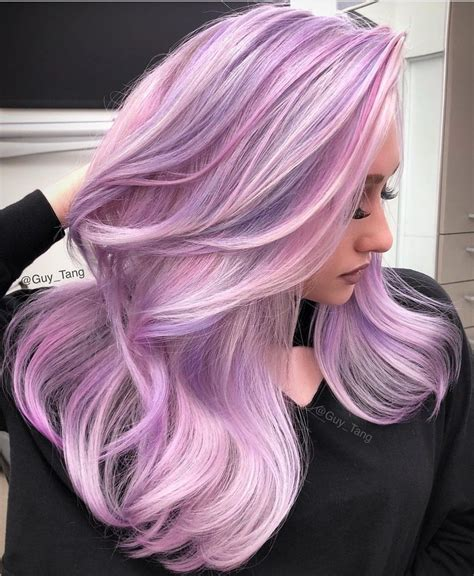 Pin By Chelsey Engel On Hairs Pastel Pink Hair Lilac