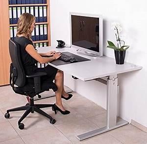 Höhenverstellbarer Schreibtisch Test : schreibtisch kaufen h henverstellbarer schreibtisch ~ Orissabook.com Haus und Dekorationen