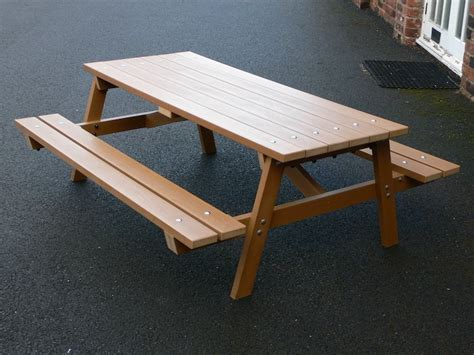 kids plastic picnic table childrens kids picnic table recycled plastic delux trade