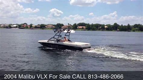 V Drive Ski Boat by 2004 Malibu Wakesetter Vlx V Drive Wakeboard Ski Boat