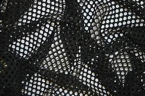 BLACK FISHNET AIRTEX MESH FABRIC 100% POLYESTER NATURAL ...