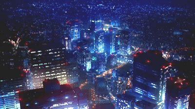 cyberpunk city tumblr cyberpunk   anime