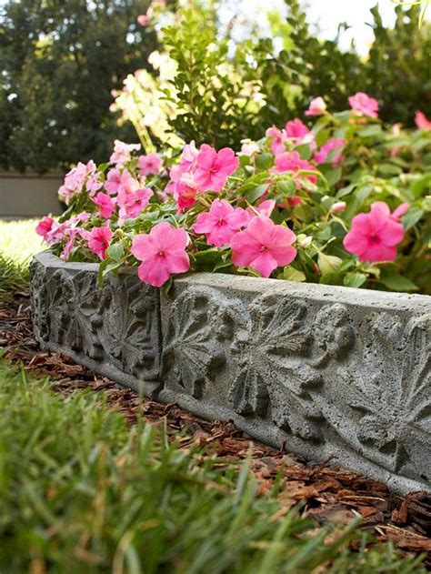 cast in diy landscape accent gardens bags and
