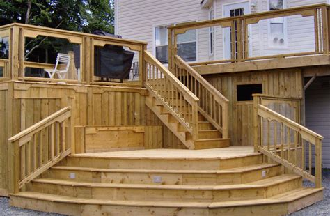Stark Builders, Inc  Deck Building