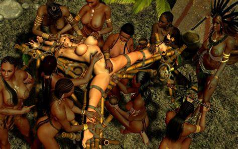 Catching With A Pregnant Native Mate An African Tribe Catch A Buxom Kinky And Banged Her