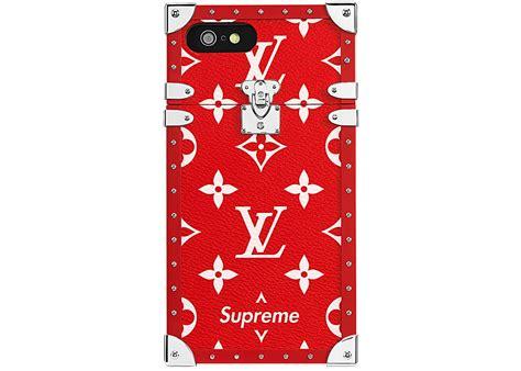 Louis Vuitton X Supreme Iphone 7 Eye Trunk Red