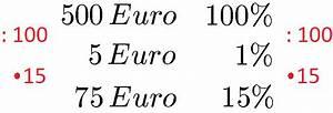 Dreisatz Berechnen : prozentwert berechnen formel und definition ~ Themetempest.com Abrechnung