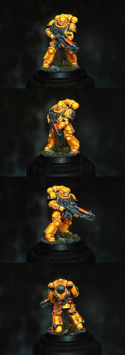 coolminiornot imperial fists primaris space marine