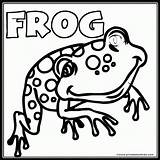Frog Coloring Pages Word Printable Clipart Colouring Frogs Searches Spotted Coloringpages Library Friendly Clip Farm Popular Printables Printables4kids Books Coloringhome sketch template