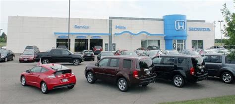 Mills Honda Car Dealership In Baxter, Mn 56425