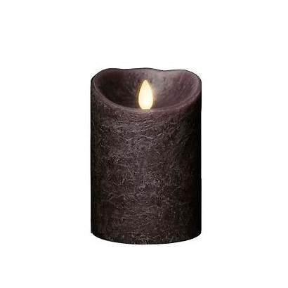 Taupe Candle Luminara Candles Pillar Flame Moving