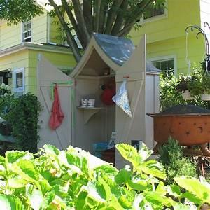 Rangement Jardin Bois : rangement outils terrasse ~ Zukunftsfamilie.com Idées de Décoration