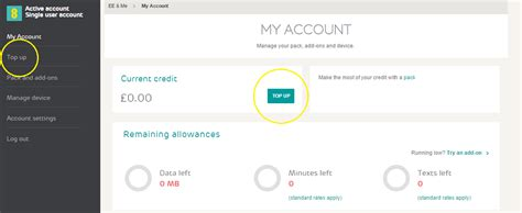 Ee Mobile Number by How Do I Make Payments And Top Up My 4gee Wifi Help Ee