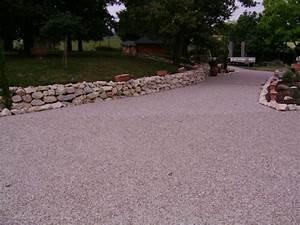 allee en beton desactive pour une entree de garage a With allee de garage en beton