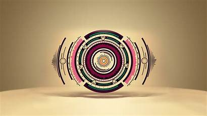 Inspiration Abstract Circles Background Wallpapers Circle Polyscape