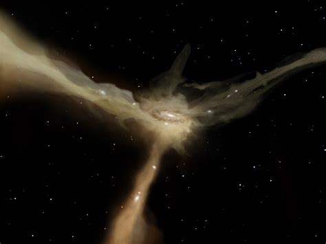 gas not galaxy collisions responsible for star formation