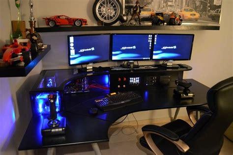 gaming desk setup ideas pc gaming setup ideas brucall com