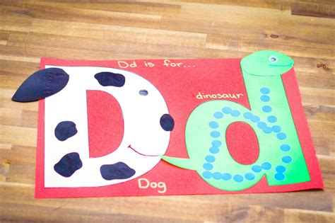letter d crafts for preschool preschool and kindergarten 414 | Letter D craft preschool