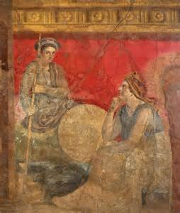 Roman Fresco From Boscoreale