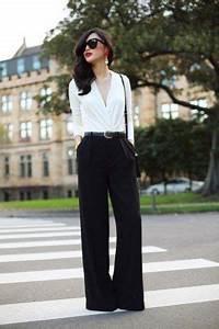 Farben Kombinieren Kleidung : marlenehosen kombinieren so tr gst du weite stoffhosen richtig business looks klassisch ~ Orissabook.com Haus und Dekorationen