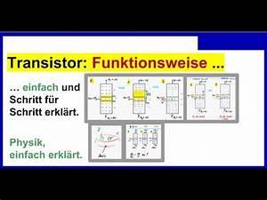 Solarzelle Funktionsweise Einfach Erklärt : transistor funktionsweise einfach und schritt f r schritt erkl rt youtube ~ A.2002-acura-tl-radio.info Haus und Dekorationen
