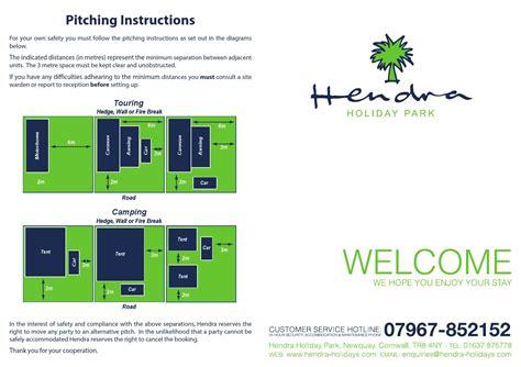 Hendra Site Map 2014 By Hendra Holiday Park  Issuu