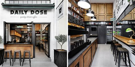 There is so much competition and so many factors that go into the operation that it takes a special like most. Andreas Petropoulos Has Designed A Small Takeaway Coffee Bar In Greece | CONTEMPORIST