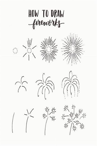 Firework Katy Perry Bullet Journal Fireworks Doodle