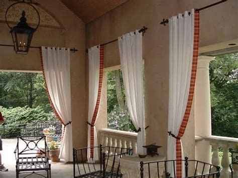 outdoor curtain rods restoration hardware outdoor