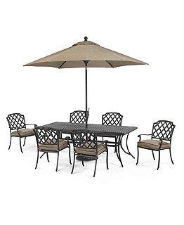 grove hill outdoor patio furniture dining sets pieces