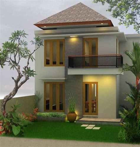 inspirasi desain rumah  lantai  konsep minimalis