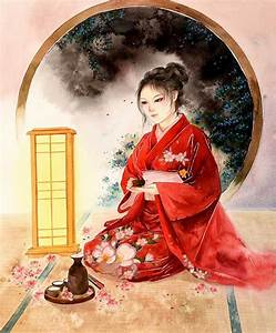 Classic, Chinese, Art, Reinterpreted, With, Modern, Women