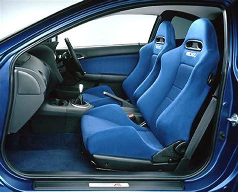jdm integra dc type  blue recaro seats conditon