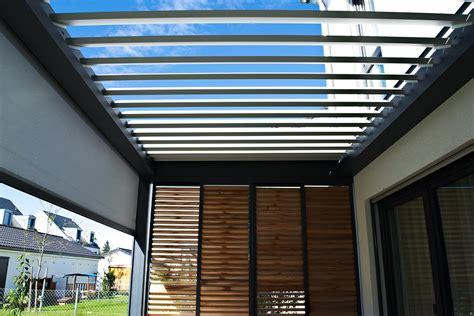 terrassenüberdachung mit lamellen terrassen 252 berdachung mit lamellen sichtschutz olching