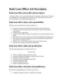 loan officer description for resume mortgage loan officer description sle