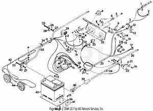 Gravely 43782 20hp  With Hydraulic Lift Parts Diagram For