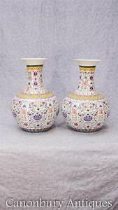 Chinesisches Porzellan Kaufen : paar chinesische qianlong porzellan vasen urnen birne ~ Michelbontemps.com Haus und Dekorationen