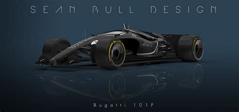 2020 Bugatti Formula 1 Entry Imagined By British Designer