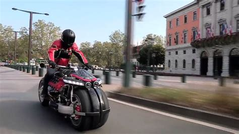 lazareth lm 847 lm847 lazareth maserati v8 engine powered motorcycle youtube