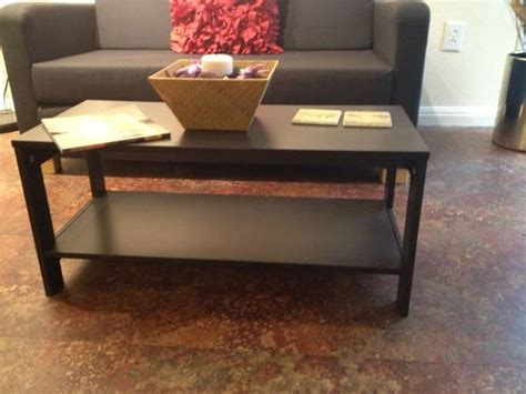 """The simplest of hacks involve spray paint. Ikea Lack Coffee Table Design   Belezaa Decorations from """"Trendy IKEA Lack Coffee Table"""" Pictures"""