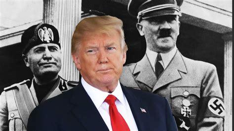 Benito Mussolini and Trump
