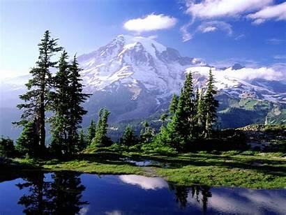 Mountain Desktop Pick Morning Mt Pretty Mountains