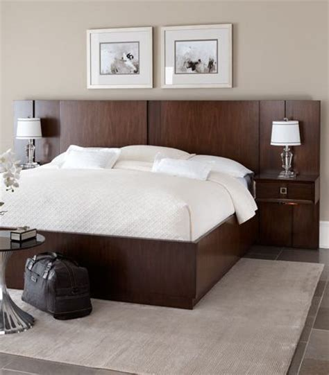 Nightstands For Platform Beds by The Chic Ventura Platform Bed And Pier Nightstand Combo