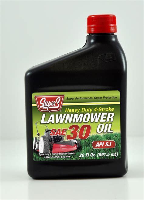 Super S 20 oz. SAE 30 Lawnmower Oil   Lawn & Garden   Lawn