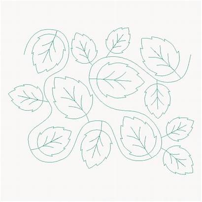 Pattern Meander Alder Eqs E2e Leaf