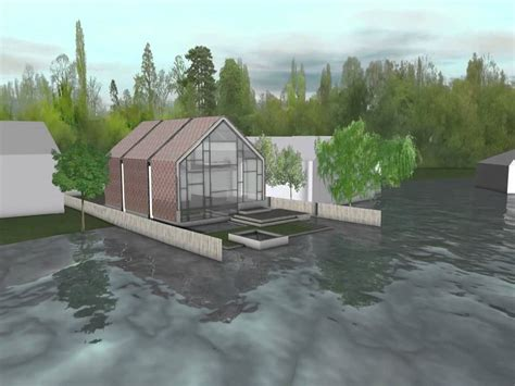 amphibious house baca architects youtube