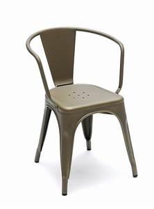 Chaise Metal Tolix : zoom sur la chaise tolix paperblog ~ Teatrodelosmanantiales.com Idées de Décoration