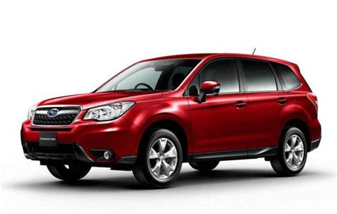 subaru forester redesign 2018 subaru forester redesign release date and changes