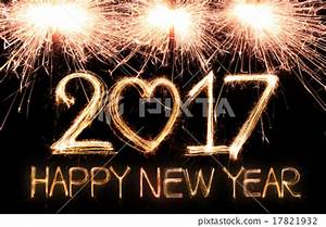 Happy new year 2017 - Stock Photo [17821932] - PIXTA